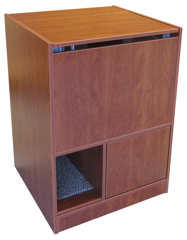 Mahogny Litter Box Furniture