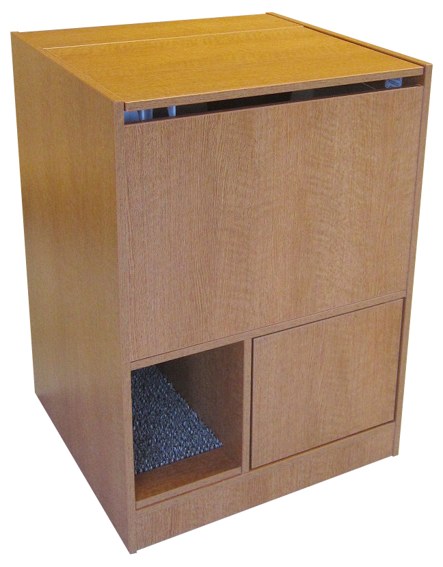 Merveilleux Oak Litter Box Furniture
