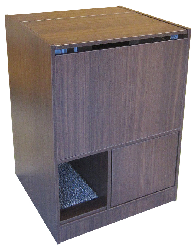 Walnut Litter Box Furniture