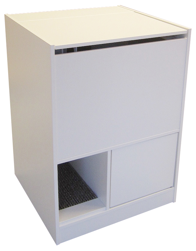 White Litter Box Furniture