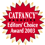 Fancy Cat Magazine Award