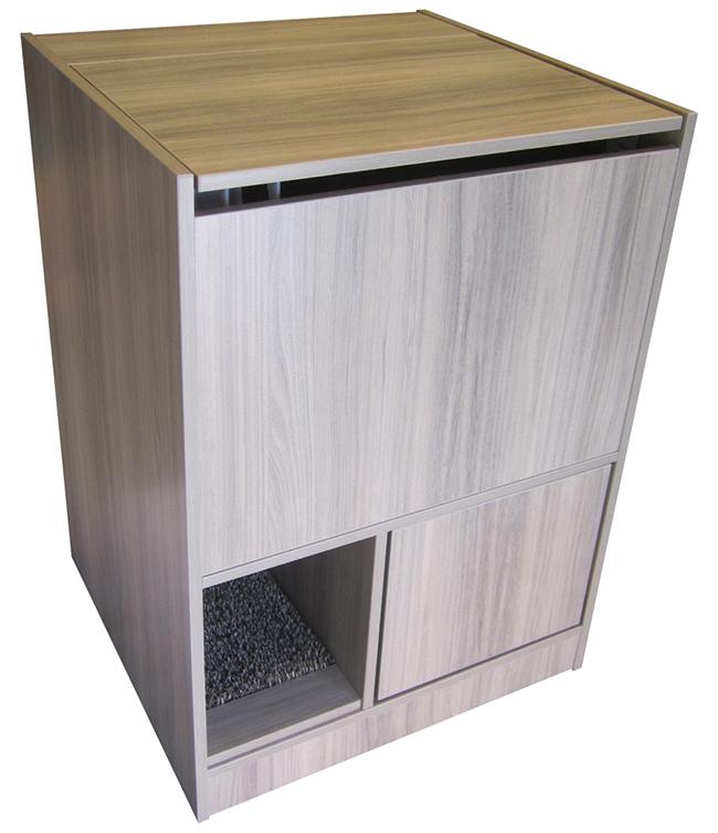 Gray Litter Box Furniture